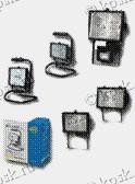 Прожекторы галогенные предназначены для подсветки витрин, экспозиций, рекламных стендов и щитов, фасадов зданий, общее освещение жилых и административных зданий