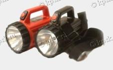 Фонарь аккумуляторный герметизированный туристский ФАГ 3Т