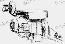 Приспособление для торцовой шлифовки зубьев дисковой пилы ВЗ-318.П54