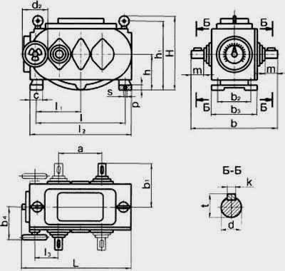 Цепные пластинчатые вариаторы типа ВЦ