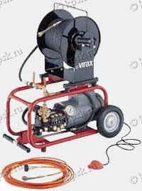 Канализационная прочистка электрическая высокого давления