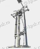 Разъединители пантографного типа РПВ на напряжение 330-500кВ предназначены для включения и отключения обесточенных участков электрической цепи, находящихся под напряжением, заземления отключенных участков при помощи заземлителя, а также отключения токов холостого хода трансформаторов и зарядных токов воздушных и кабельных линий