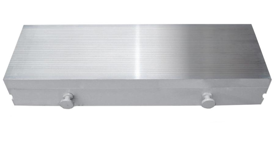Плита электромагнитная с продольным расположением полюсов.