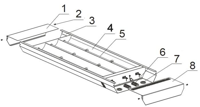 Схема инфракрасного обогревателя своими руками 30